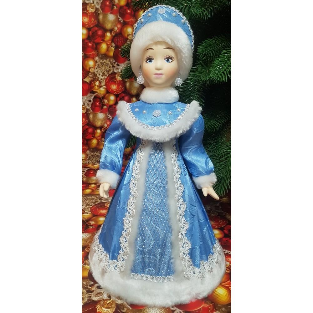 Кукла Снегурочка под елку 35 см