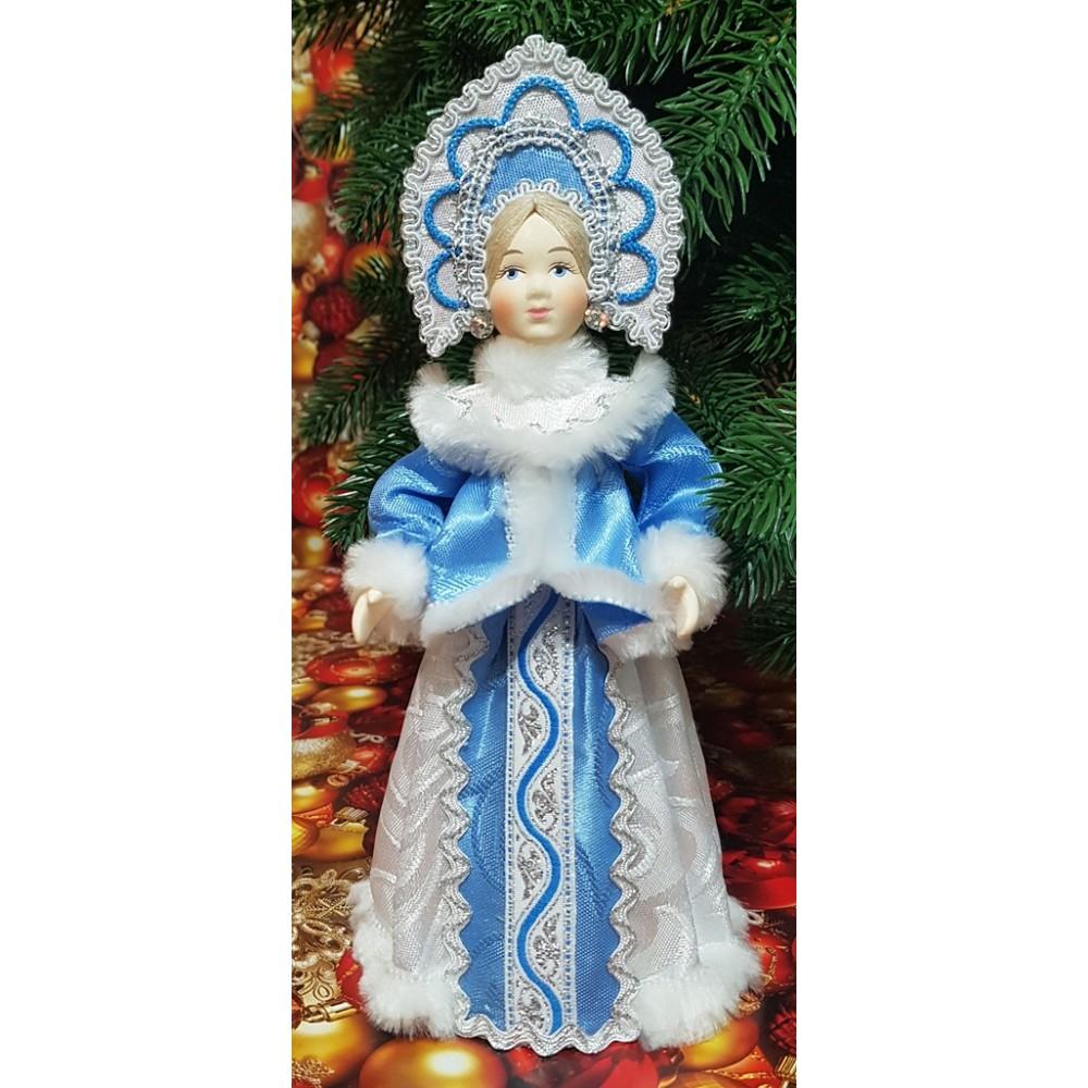 Кукла Снегурочка под елку 24 см