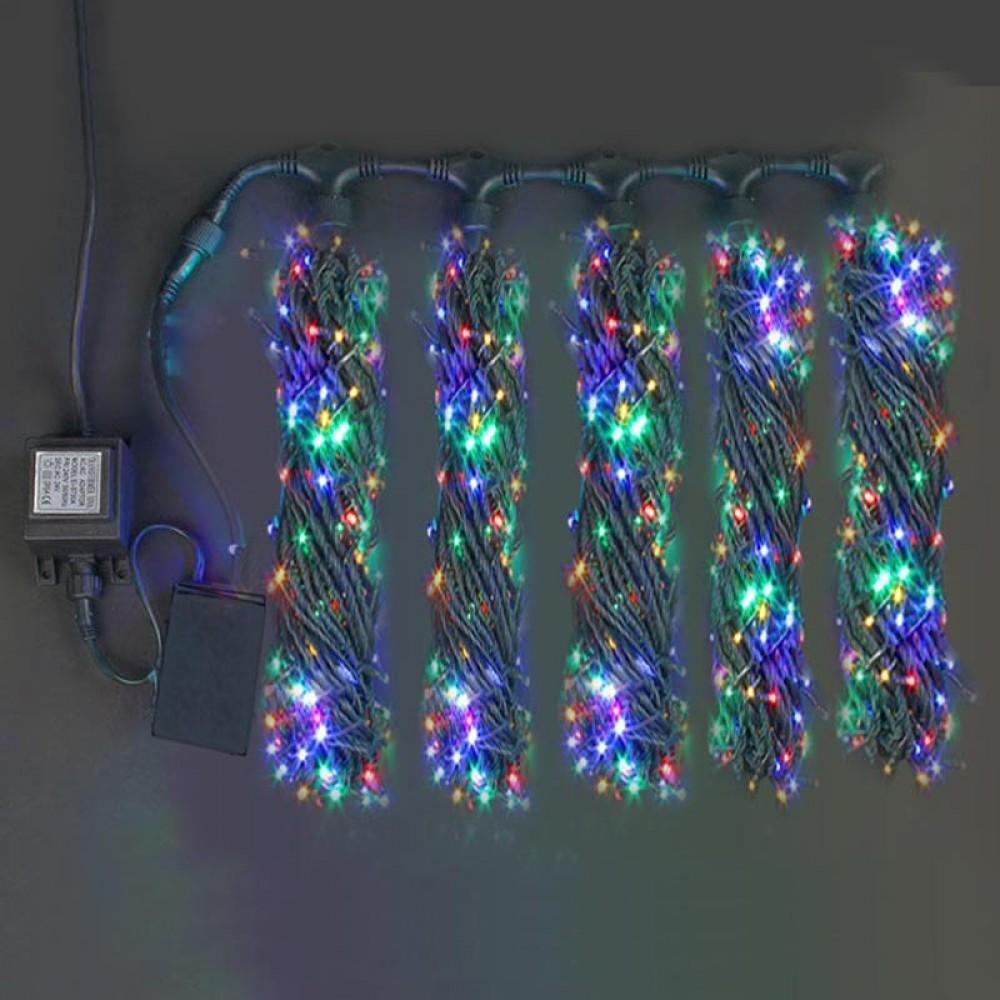 """Клип-лайт """"Спайдер 5х20м"""" FRGB светодиоды, мерцающие и переливающиеся всеми цветами"""