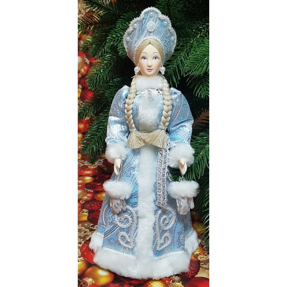 Кукла Снегурочка под елку 30 см