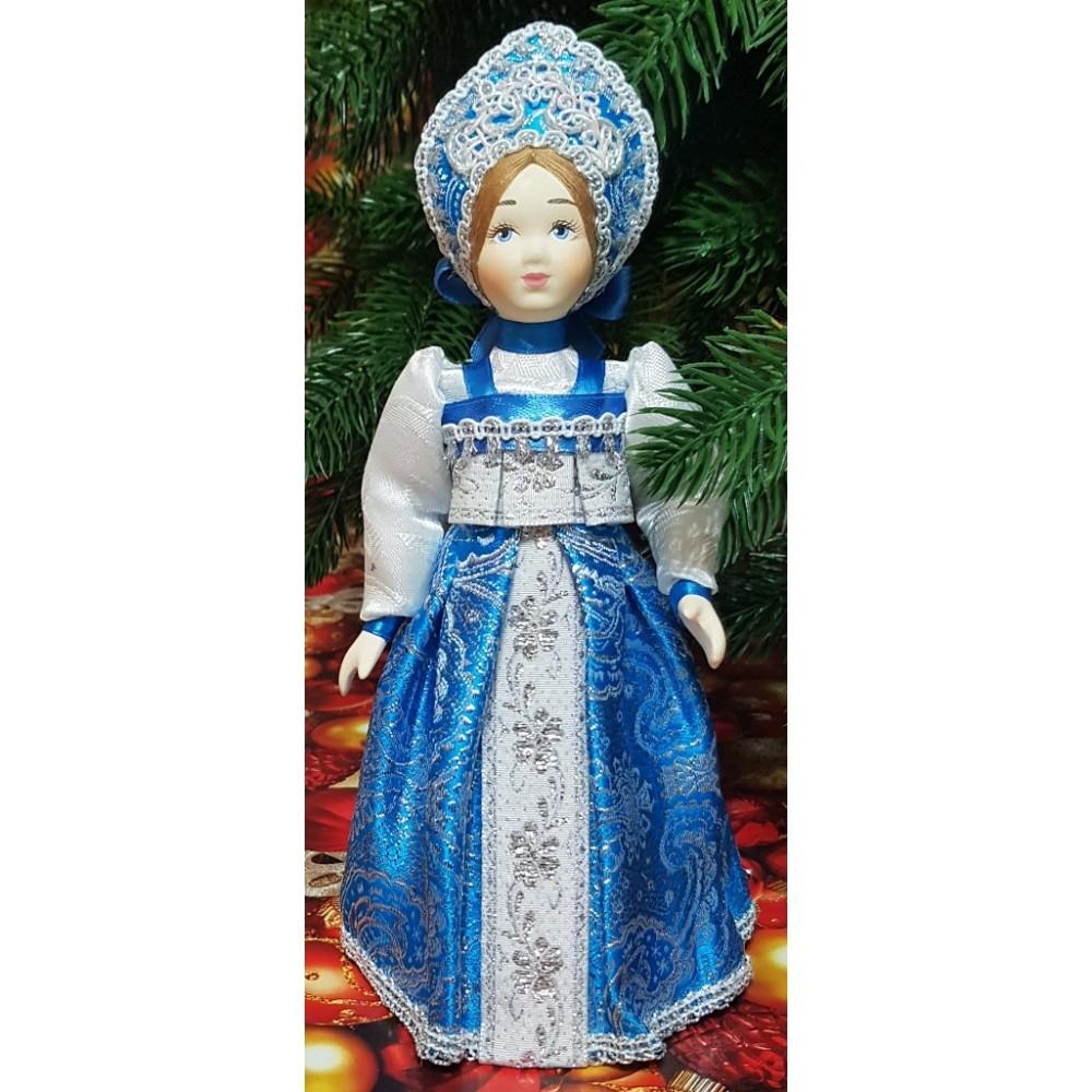 Кукла Снегурочка под елку 23 см