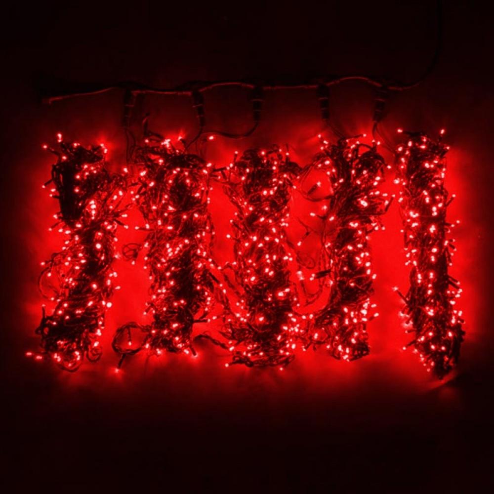 """Клип-лайт """"Спайдер 5х20м"""" постоянного свечения, красный"""